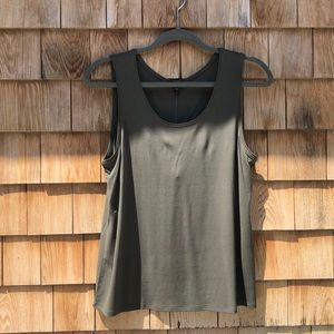Eileen Fisher | Jersey Silk Tank Blouse